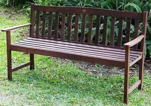 Jackeroo 3 Seater Park / Garden Bench By Outback Furniture Co. Kallangur Pine Rivers Area Preview