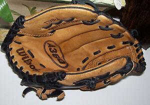 "Wilson A360 10 Inch RH T Ball Glove or Spalding LH 9"" Glove London Ontario image 1"