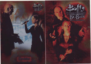 BUFFY BIG BADS SET OF 72 CARDS WITH WRAPPER