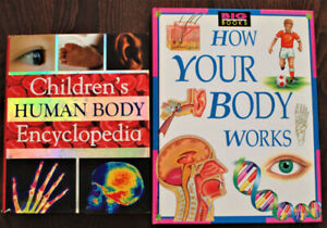 Children's Human Body Book and Poster