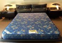QUEENSIZE FOAM MATTRESS !! IMMACULATE CONDITION !!