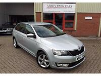 2014 (64) Skoda Rapid Spaceback 1.6TDI CR SE Tech - Silver