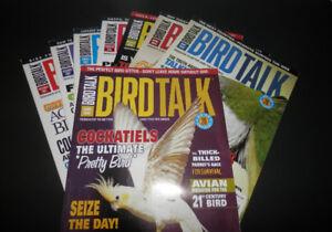 36 Magazine issues of Birdtalk