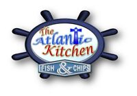 The Atlantic Kitchen Take Out Menu, come get yours!!