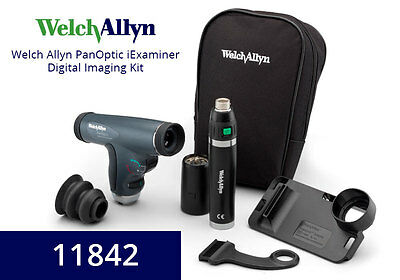 Welch Allyn Iexaminer Iphone Combo Set With Panoptic Head 11842-a6
