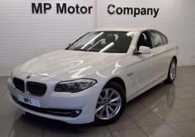 2013 13 BMW 5 SERIES 2.0 520D SE 4D 181 BHP 4DR 6 SP 181BHP DIESEL SALOON, WHITE
