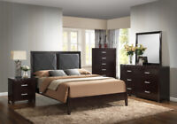 Solid Wood Queen Bed ONLY $299! all sizes available