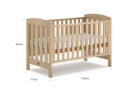Boori cot bed convertible