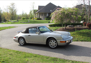 1990 Porsche 911 Clean 60,000 km Carrera 2 Convertible