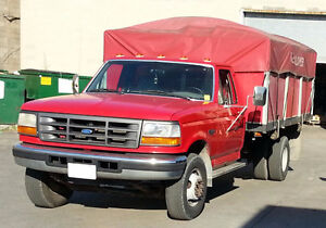 1997 Ford Super Duty c/w Attached Trailer
