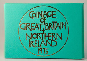 1975 Coinage of Great Britain & Northern Ireland Proof Coin Set