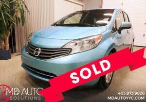 2014 Nissan Versa Note SV Only 30k!