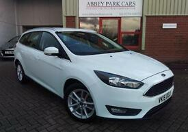 2015 (15) Ford Focus 1.5TDCi ( 120ps ) ( s/s ) Zetec - White