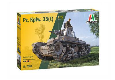 Italeri 7084 Panzerkampfwagen 35 (t) M1:72 unlackierter Bausatz Panzer