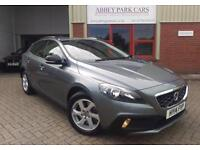 2014 (14) Volvo V40 2.0 D3 ( 150bhp ) ( s/s ) Geartronic Cross Country SE - Grey