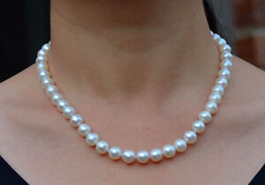 Ivory Freshwater Pearl Necklace - a Christmas jewelry gift London Ontario image 3