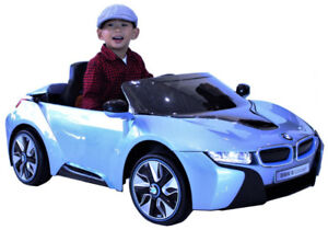 Stylish BMW i8 Electric Ride-On Toy Car