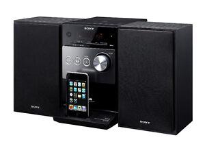 *SONY* CMT-FX300i HiFi SYSTEM w/ CD, MP3, iPod dock, USB & AUX