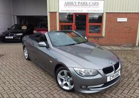 2011 (11) BMW 320 D SE Convertible Automatic - Grey