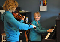 Violin, Viola, and Piano lessons