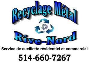 === Recyclage Métal Rive Nord (cueillette des métaux) ===