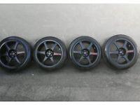 Yokohama model 6 light weight racing alloys