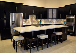 SALE! Kitchen countertop starts from $38/sqft on our most popular granite and quartz colors
