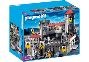 Playmobil Knight's Empire Castle and more