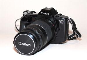 Ensemble EOS 650 et zoom 75-300mm