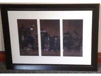 Black framed picture