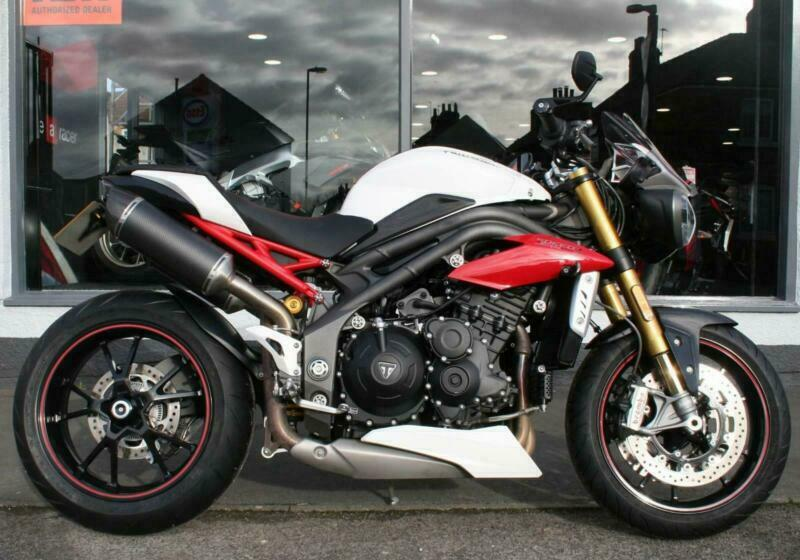 2017 Triumph Speed Triple 1050 R With Extras At Teasdale