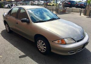 2001 Chevrolet Cavalier Sedan - LOW KMs CLEAN CAR!