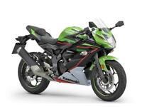 New 2021 Kawasaki Ninja 125 ABS KRT Green*DUE IN AUGUST*