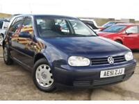 VOLKSWAGEN GOLF 1.6 S 105 BHP ***CHEAP PART EX TO CLEAR*** SERVICE HISTORY