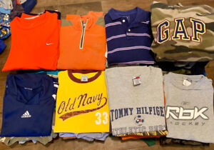 60 Boys Shirts, Sizes 7-12 - Excellent Condition!