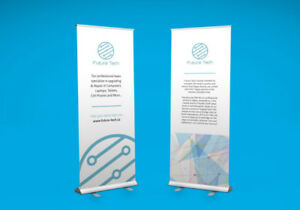 CUSTOM RETRACTABLE ROLL UP BANNER