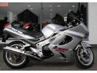 2004 Kawasaki ZZR 1200 in Silver at Teasdale Motorcycles, Yorkshire.