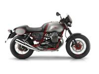 2017 Pre Reg Moto Guzzi V7II Racer MY16 at Teasdale Motorcycles, Yorkshire