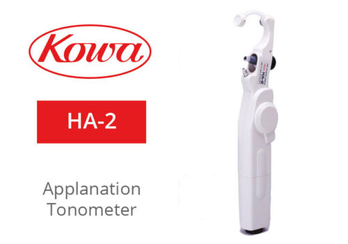 KOWA HA-2 Hand Held Applanation Tonometer / Includes: L-5112 Tonometer HA-2 Tip