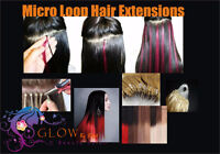 Hair extensions (MICRO LOOP and MICRO RING WEFTS)
