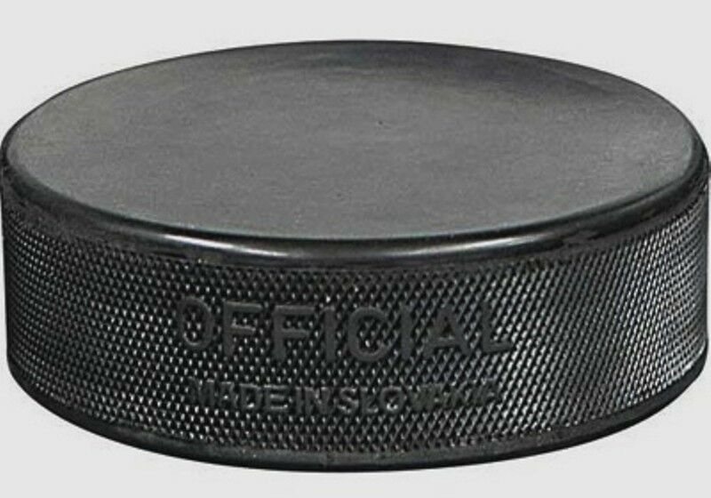 New!! Inglasco Regulation Practice Puck 6 oz - Black - (36 Pack)