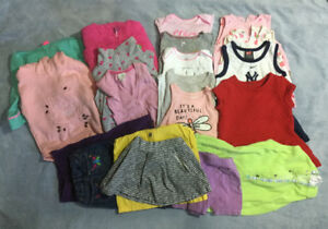 Girls Lot size 24 month