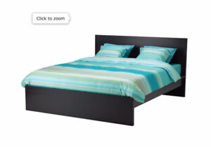 Malm Queen bed with 2 drawers