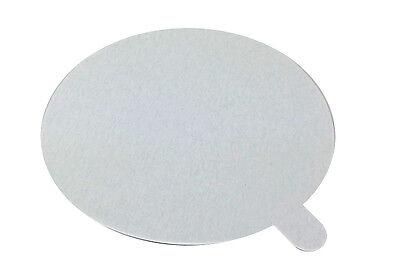 Foil Laminated Board Lid (Foil Laminated Board Lid for 4 oz. Aluminum Foil Cupcake/Muffin Cup 100/PK )