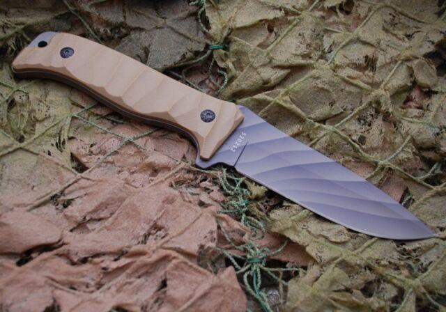 Herbertz Outdoor-Messer Camo-Beschichtung Jagdmesser Messer Taschenmesser Griff
