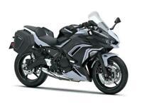 New 2020 Kawasaki Ninja 650 ABS TOURING *WHITE / BLACK *SAVE £600 *