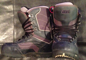 Firefly and Van's Snowboard Boots!!