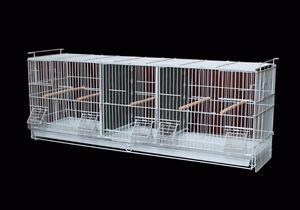 Triple Breeding Cage for Finch Canary Samll Bird