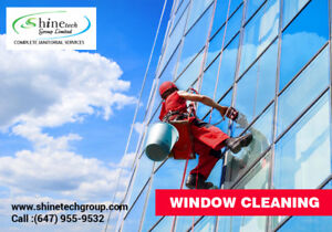 High Reach Window Cleaning Services in Toronto