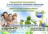 Contrat Franchise de Nettoyage Résidentiel / Commercial
